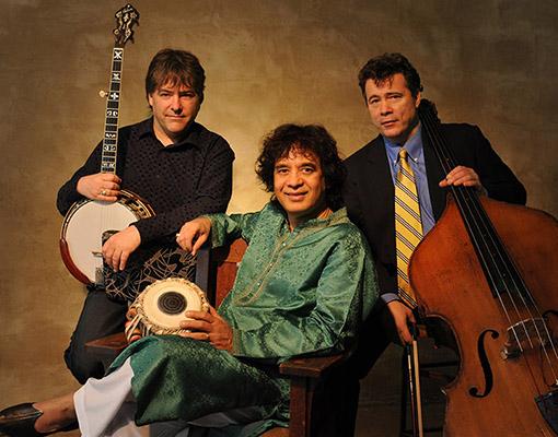 Béla Fleck, Zakir Hussain & Edgar Meyer