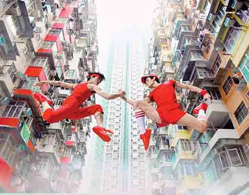 Brand Photo_LL&SJ-Dancers- Shen Jie, Li Lin, Creative- Design Army, Photography- Dean Alexander