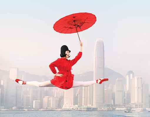 Brand Photo_Ye Feifei- Dancer-Ye Feifei, Creative- Design Army, Photography- Dean Alexander