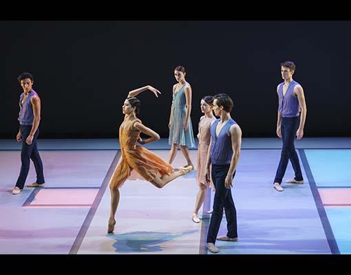 EVERYONE KEEPS ME_The Royal Ballet_ROH, Linbury Theatre.Choreographer; Pam Tanowitz,Dancers; Beatriz Stix_Brunell, Fumi Kaneko, Anna Rose O'Sullivan, Luca Acri, James Hay, Calvin Richardson