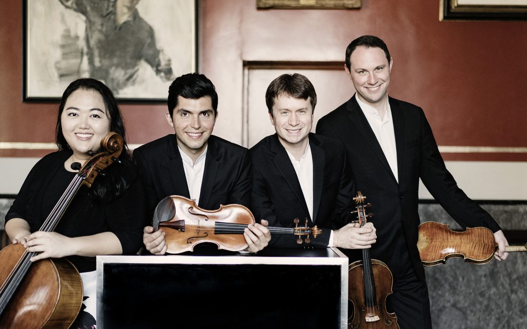 Calidore String Quartet Gives Virtual World Premiere by Hannah Lash for the Shriver Hall Concert Series in Baltimore