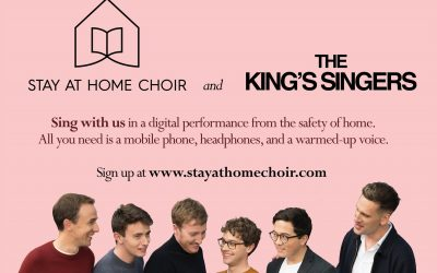 The King's Singers – Stay at Home Choir Session – Facebook