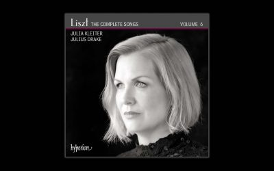 Julius Drake Releases Volume 6 of His Acclaimed Liszt: The Complete Songs Series