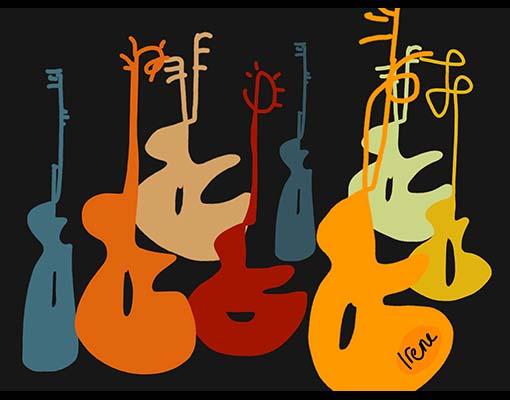 Django Illustration 4 by Irene Ypenburg
