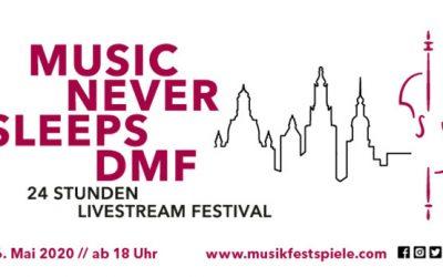 Ute Lemper to Co-Host and Perform at the Music Never Sleeps DMF 24-hour Livestream Festival