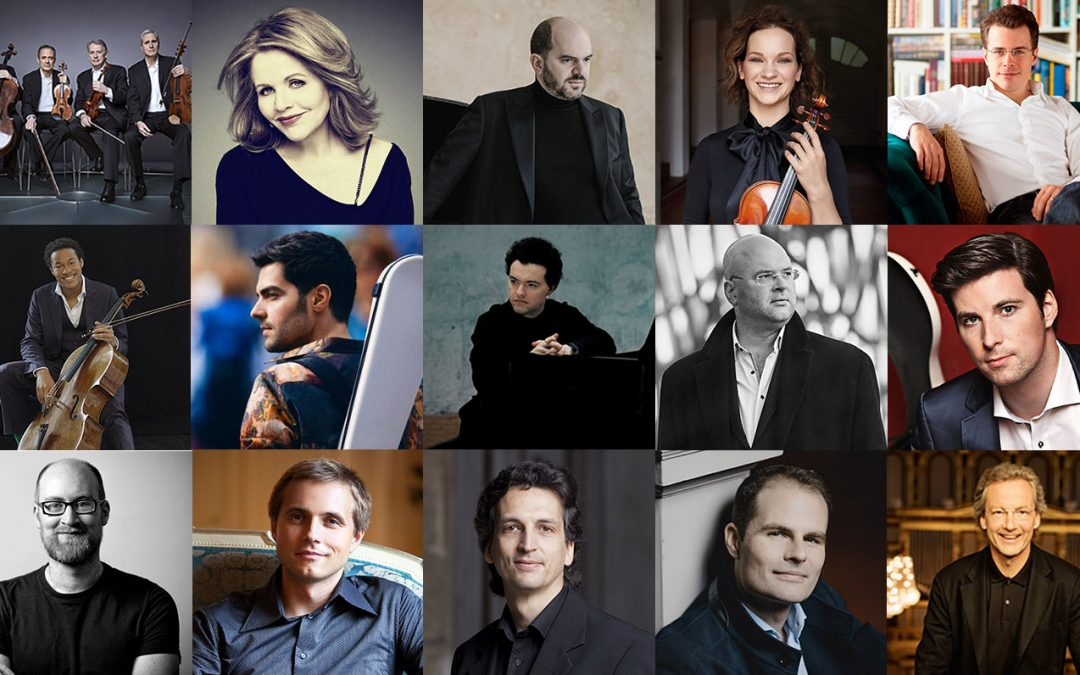 IMG Artists Congratulates its 2020 Opus Klassik Nominees