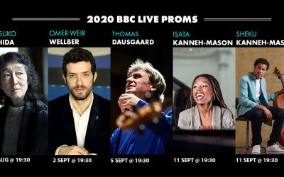 Thomas Dausgaard, Isata and Sheku Kanneh-Mason, Mitsuko Uchida and Omer Meir Wellber Perform 2020 BBC Live Proms