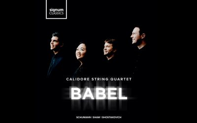 Calidore Quartet's New Single from Shostakovich: String Quartet No. 9 Out Now; New Album Babel Available 23 October