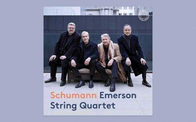 Emerson String Quartet New Album: Schumann String Quartets Out Now on Pentatone