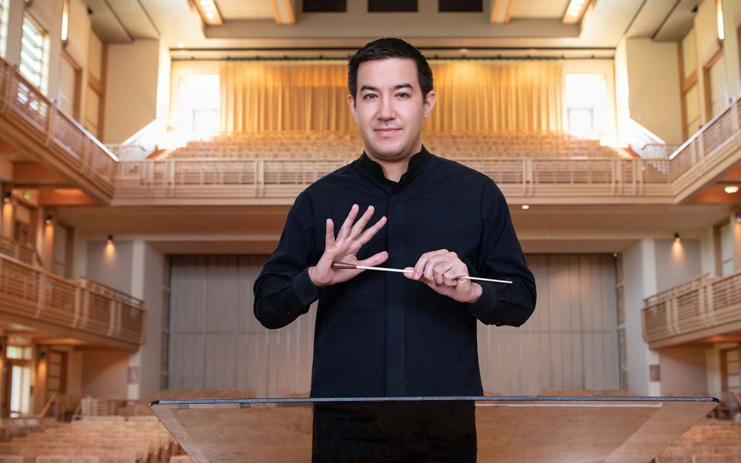 Francesco Lecce-Chong Announces Virtual Concerts with Santa Rosa Symphony