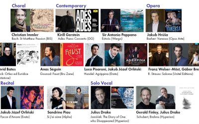 Congratulations to our 2020 Gramophone Awards Shortlist artists