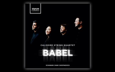 "Calidore String Quartet Release ""Breathtaking"" New Album: Babel"