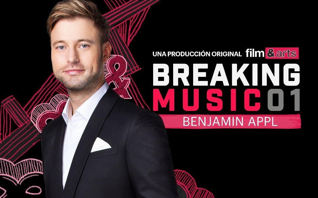 """This Series is Beautiful"" Benjamin Appl Releases ""Breaking Music"" Series on Film & Arts Network"