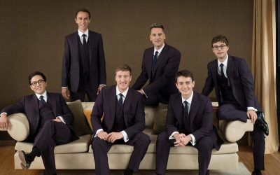 THE KING'S SINGERS JOIN THE CHORISTERS OF KING'S COLLEGE CHOIR FOR BBC TWO'S CAROLS FROM KING'S