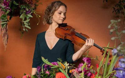 Three-time Grammy-winning violinist Hilary Hahn presents her new recording, Paris