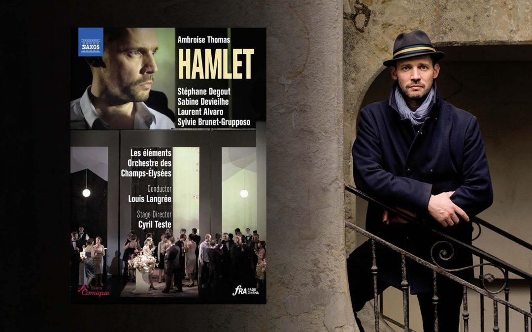 Stéphane Degout's Hamlet Wins Diapason d'or de l'année
