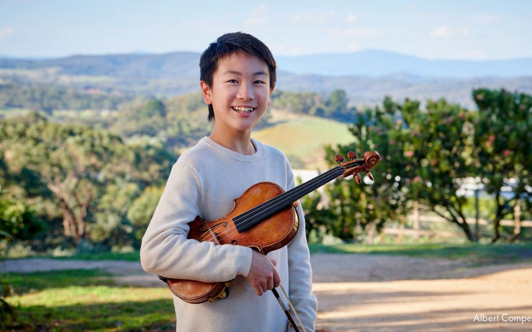 THE YOUNGEST ARTIST EVER TO RECORD VIVALDI'S FOUR SEASONS – CHRISTIAN LI . DEBUT ALBUM OUT ON DECCA CLASSICS ON 20 AUGUST