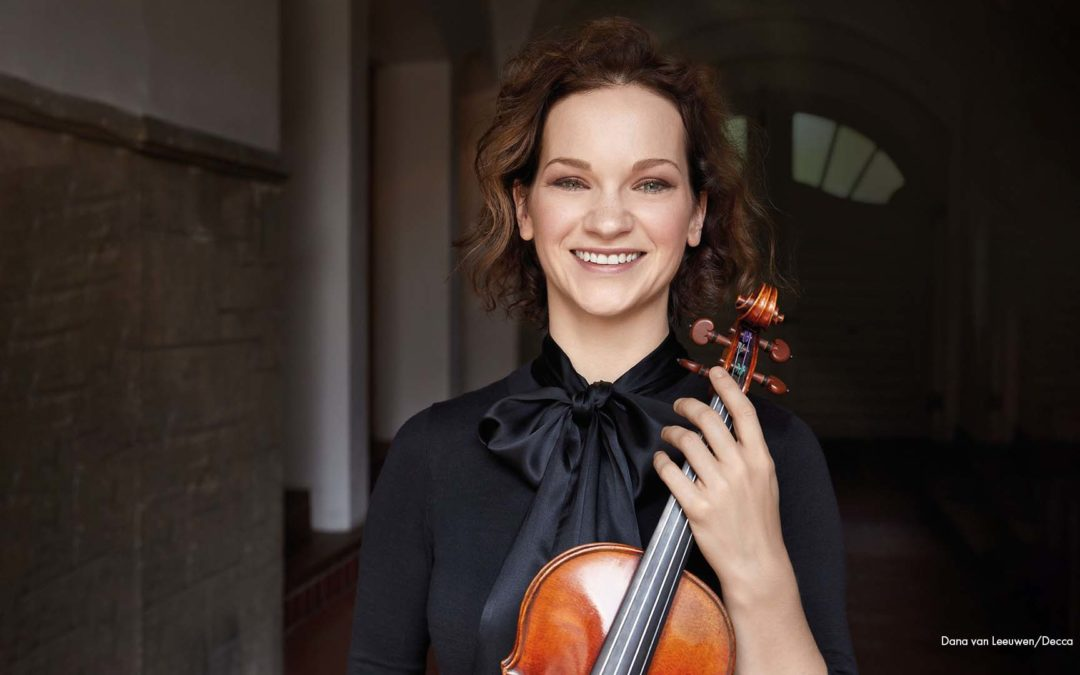 Hilary Hahn Appointed Inaugural Chicago Symphony Orchestra Artist-in-Residence for 2021 – 23