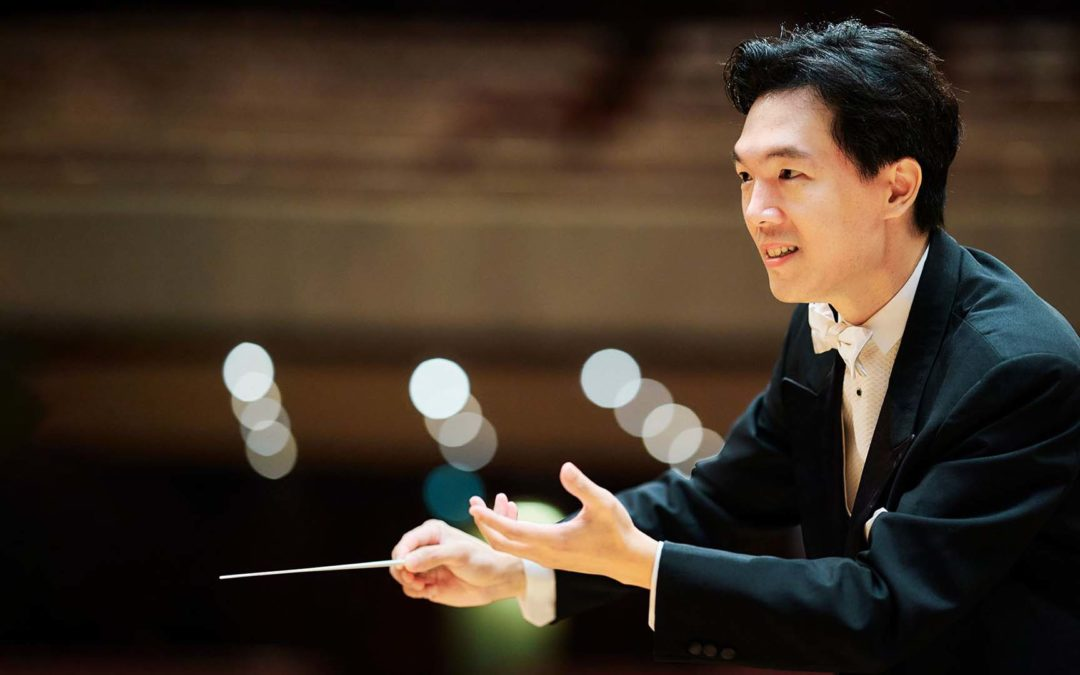 """Lio Kuokman Conducts World Premier of Chan Kai-Young's """"Glimmering Lights, Cascading Heights"""" with Hong Kong Philharmonic 26 June"""