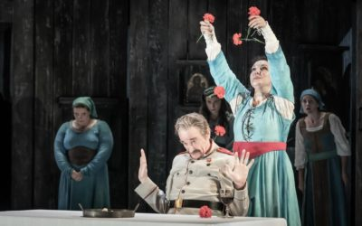 """Clive Bayley a """"Masterly"""" Ivan the Terrible at Grange Park Opera"""
