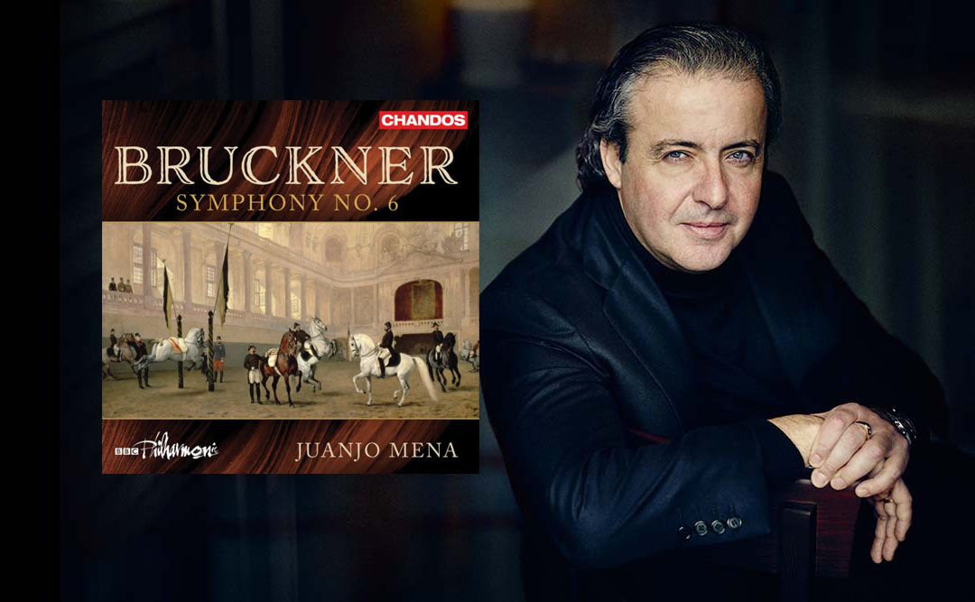 """Juanjo Mena's """"Intensely Musical"""" Bruckner 6 with BBC Philharmonic Now Available on Chandos"""