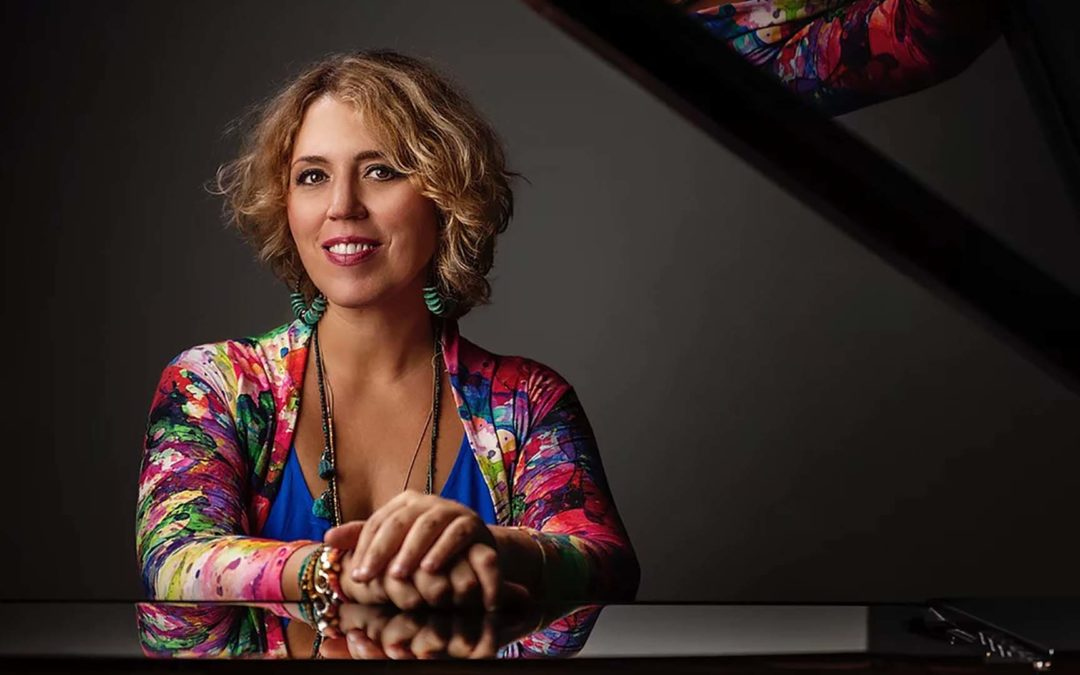 Gabriela Montero is Pianist Magazine's August/September Cover Star