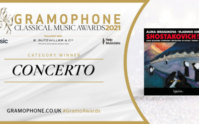 Vladimir Jurowski Wins 2021 Gramophone Award for Best Concerto Recording