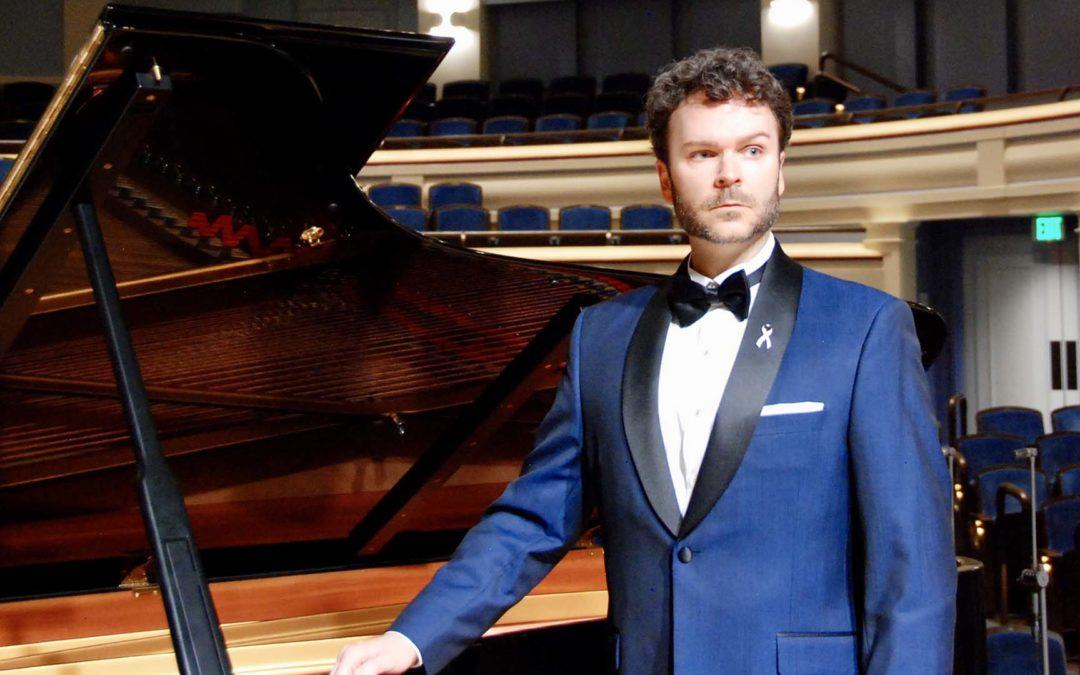 Baritone Joshua Hopkins in Recital for Vocal Arts DC